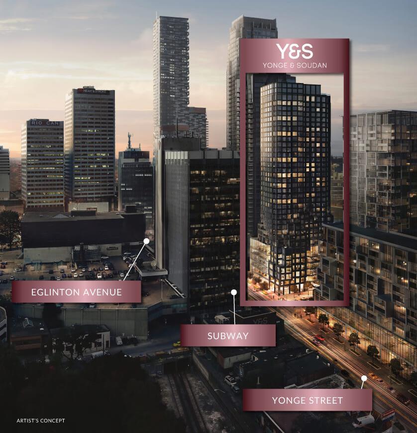 Exterior photo of Y&S Condos