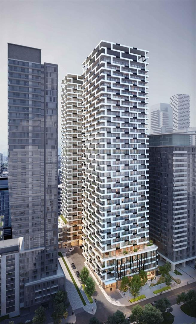 六十五百老汇公寓的外部照片