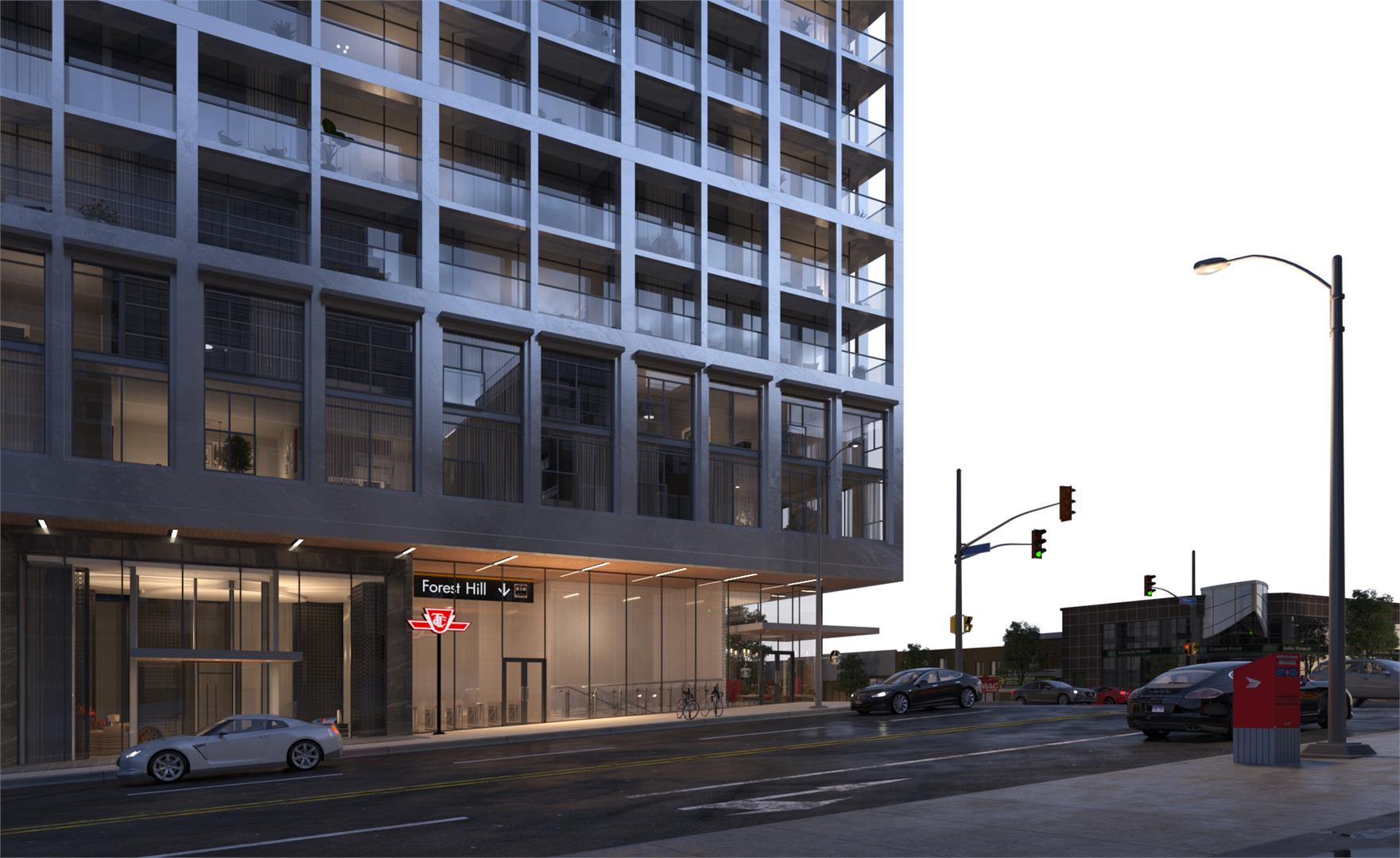 Exterior photo of The Forest Hill Condominiums