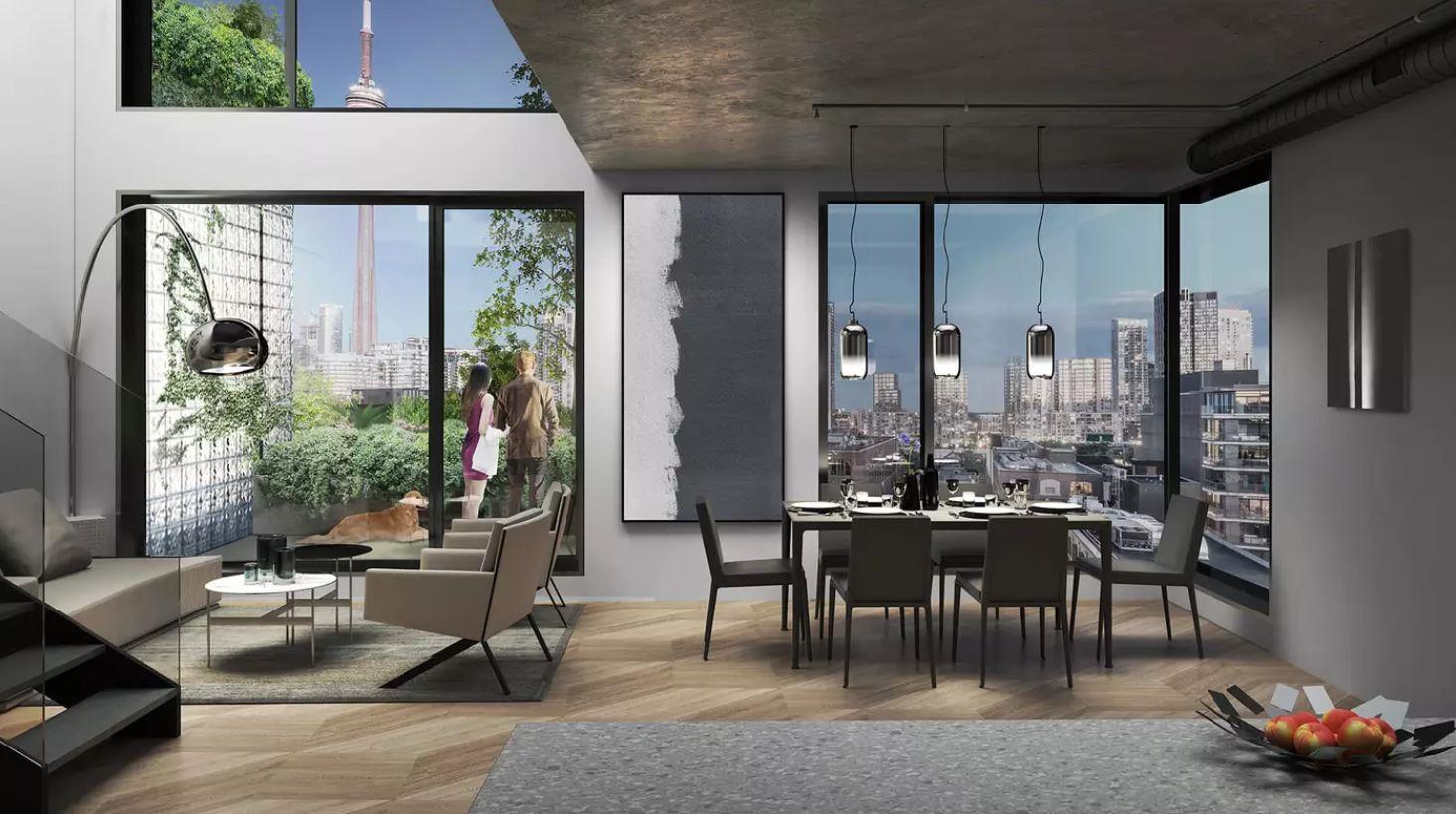 Interior photo of King Toronto Condos