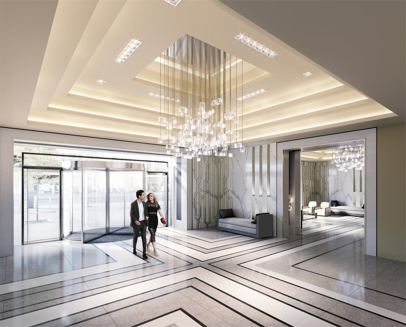 Interior photo of SkyTower at Pinnacle One Yonge