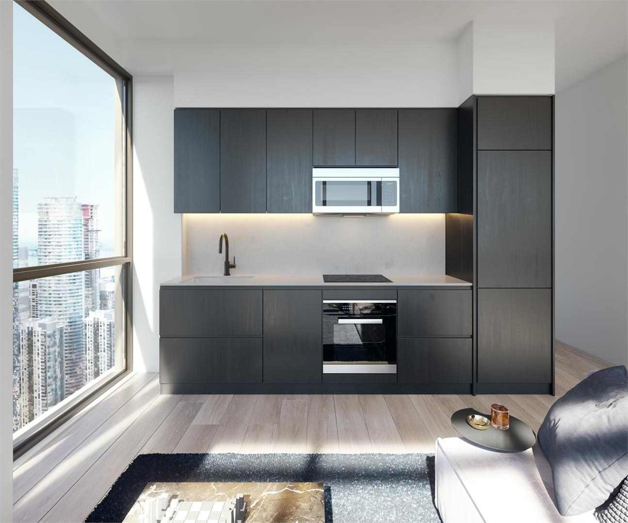 Interior photo of Empire Maverick Condos