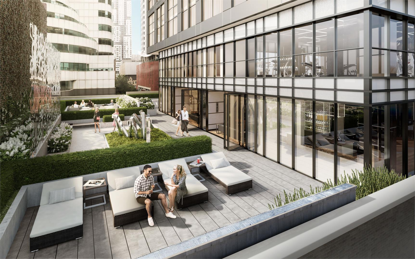 Exterior photo of Empire Maverick Condos