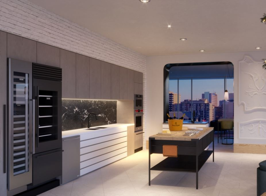 Interior photo of Fleur Condos