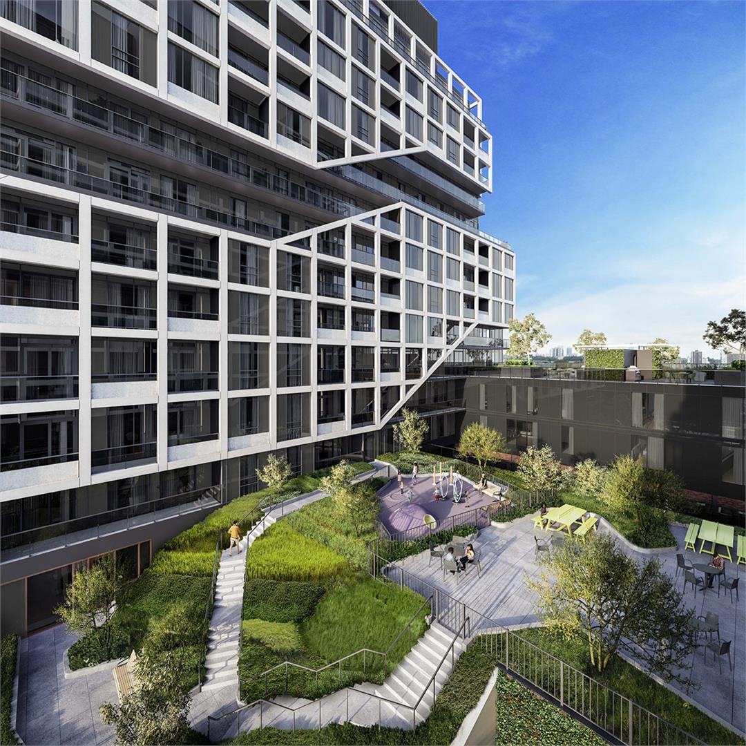 Exterior photo of MRKT Alexandra Park