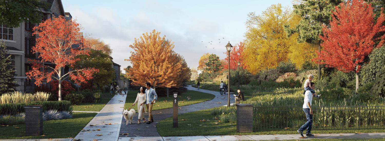 Exterior photo of Union Village