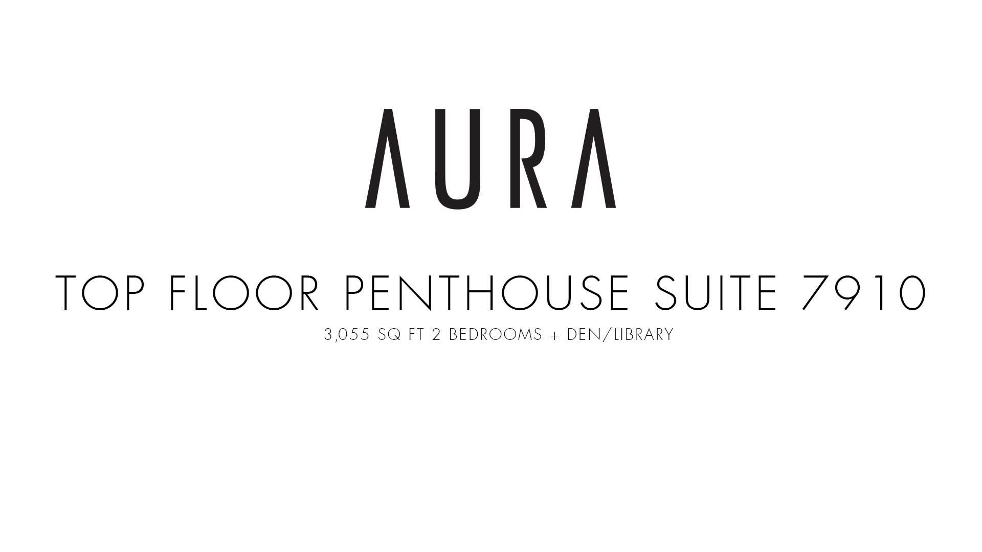 Aura at College Park - Penthouse 7910 Virtual Tour