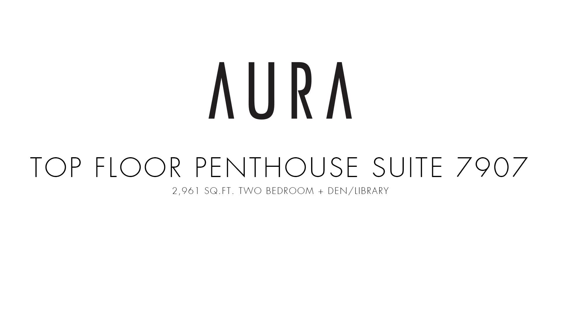 Aura at College Park - Penthouse 7907 Virtual Tour
